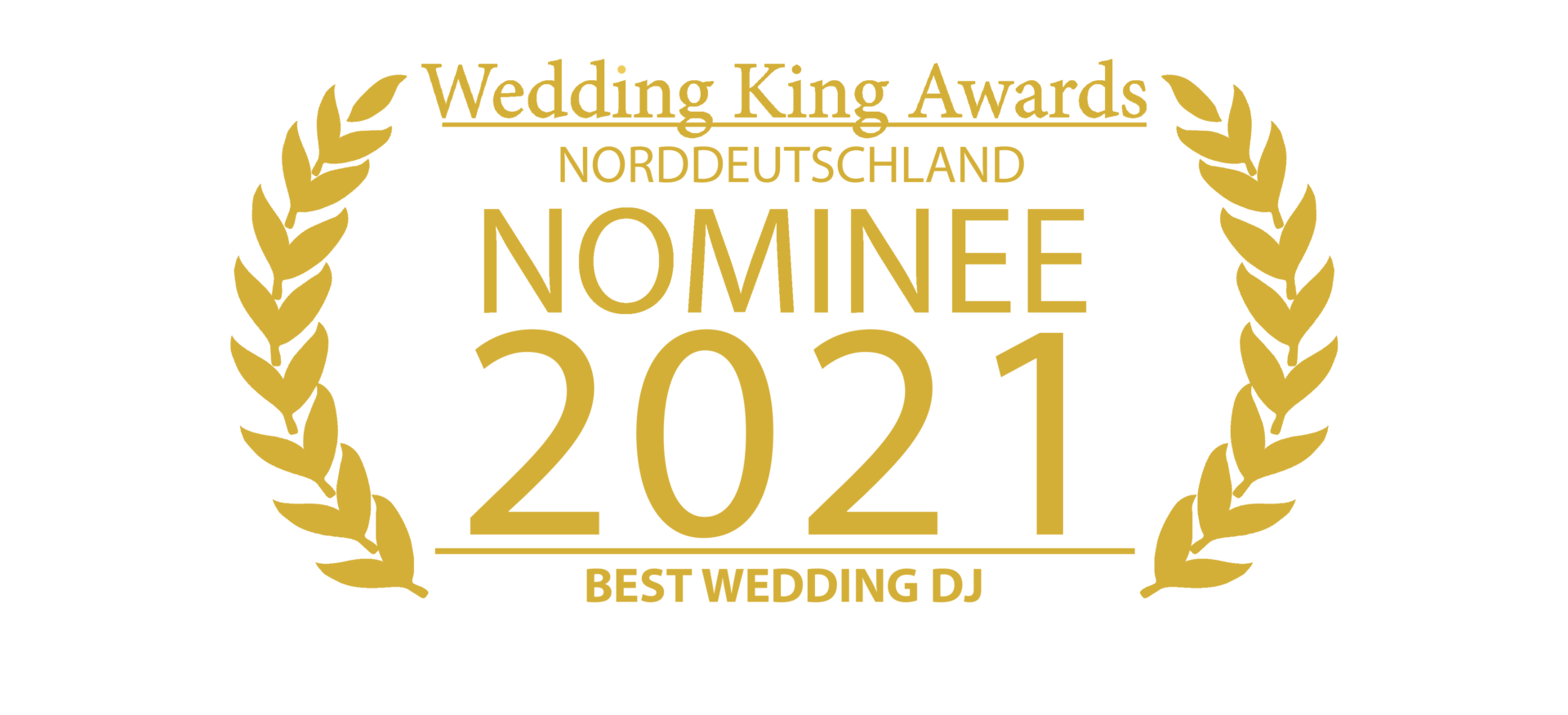 Wedding Award Germany Logo DJ