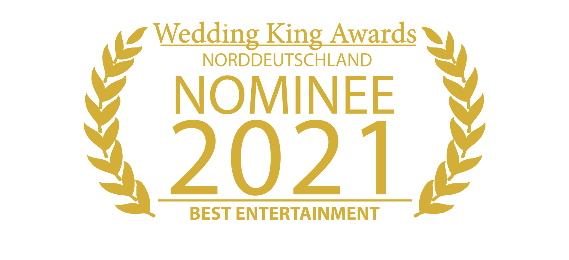 Wedding Award Germany Logo Entertainment