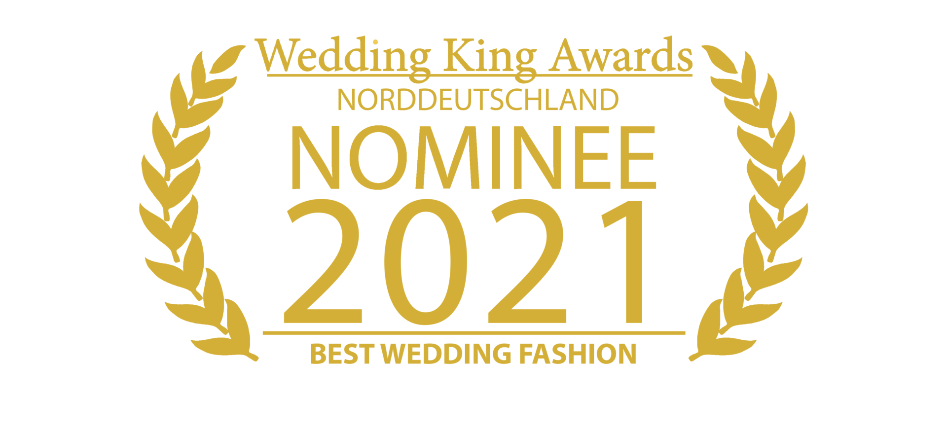 Wedding Award Germany Logo Fashion