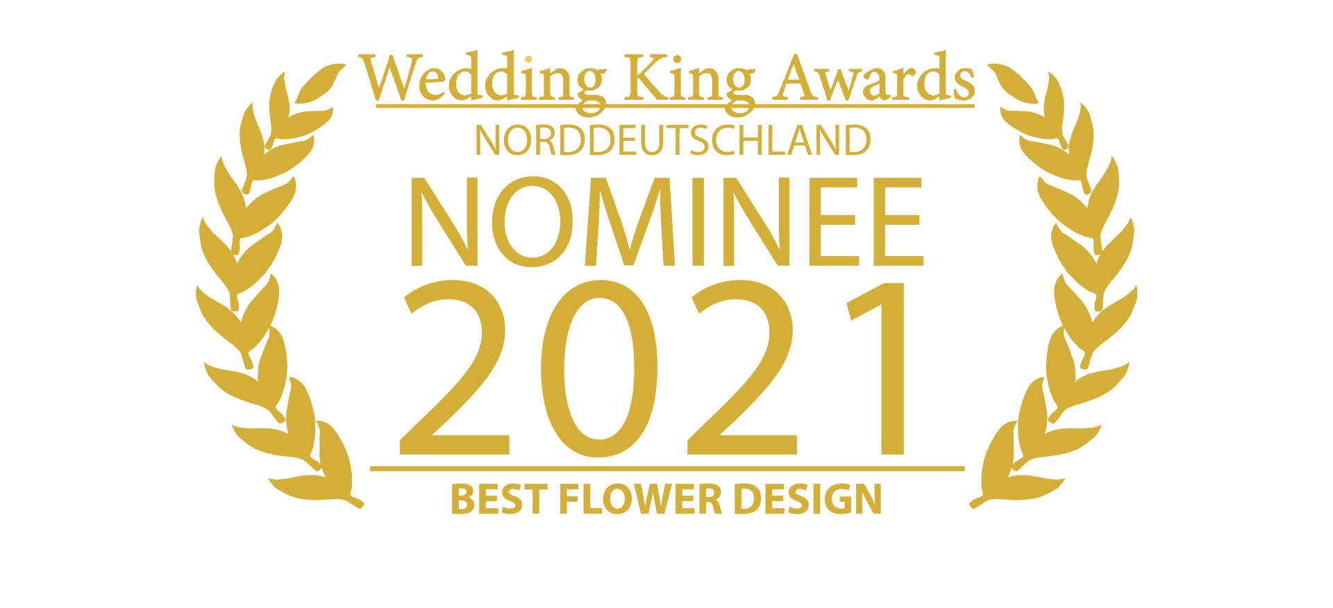 Wedding Award Germany Logo Floristik