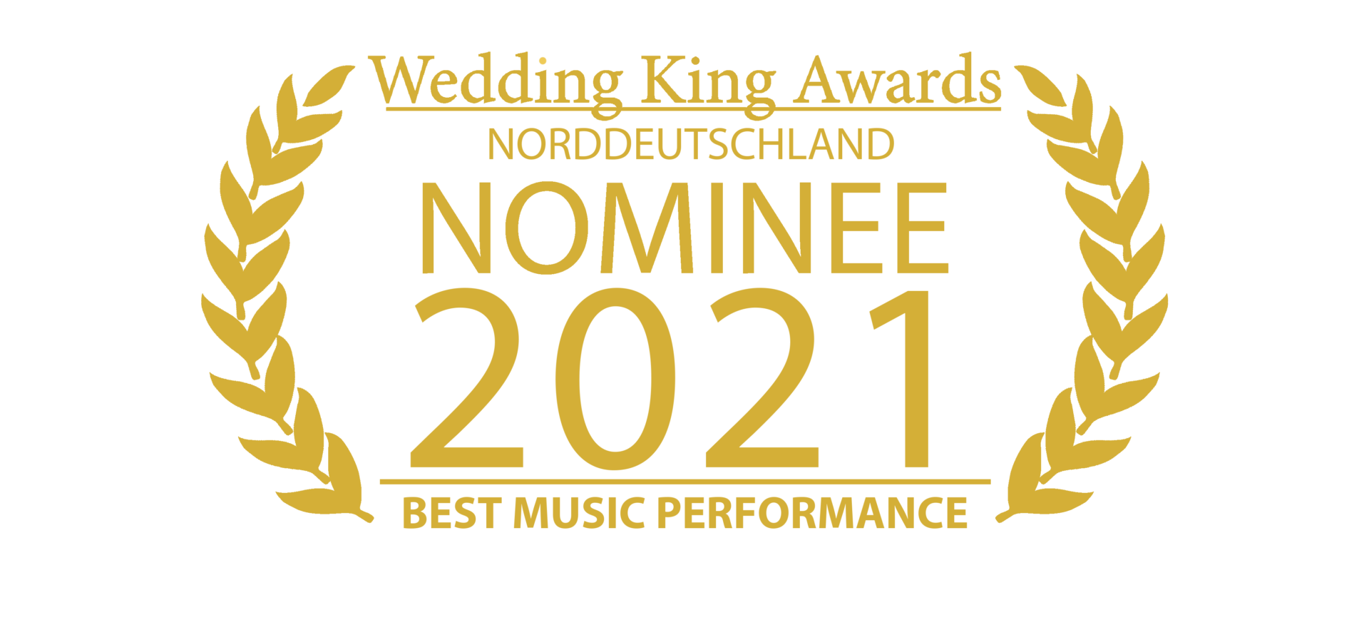 Wedding Award Germany Logo Musik
