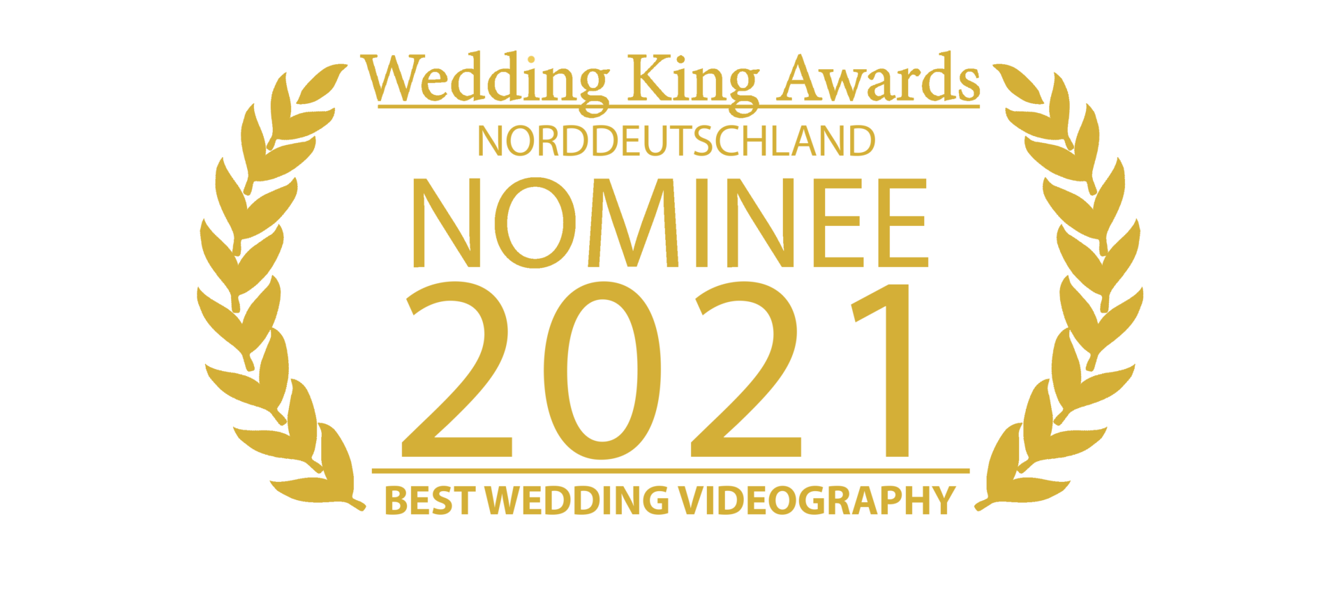 Wedding Award Germany Logo Videography